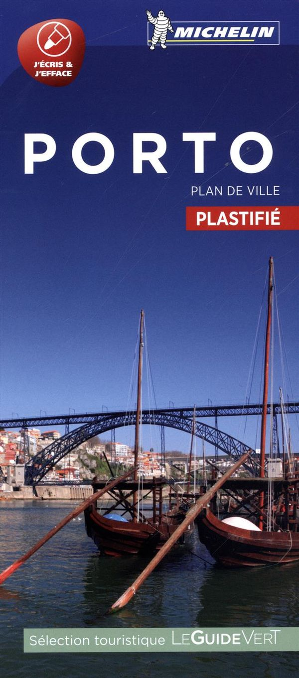 Porto : Plan de ville plastifié