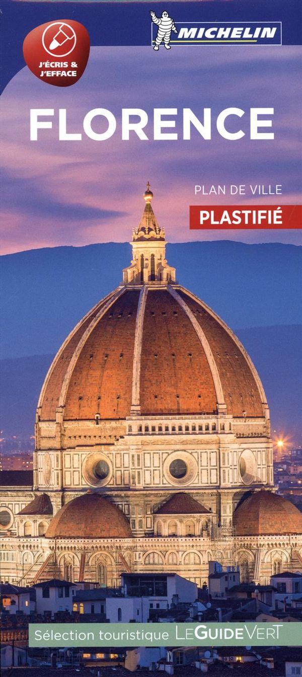 Florence : Plan de ville plastifié