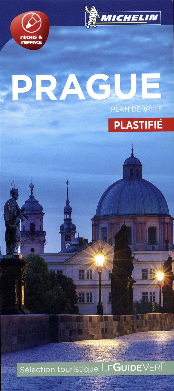 Prague : Plan de ville plastifié