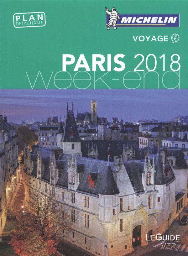 Paris 2018 - Guide vert Week-end