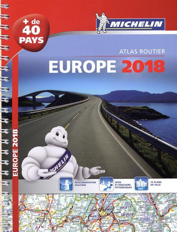 Atlas routier - Europe 2018
