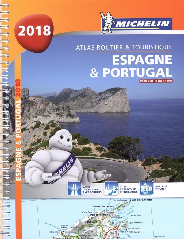 Atlas routier & touristique - Espagne & Portugal 2018
