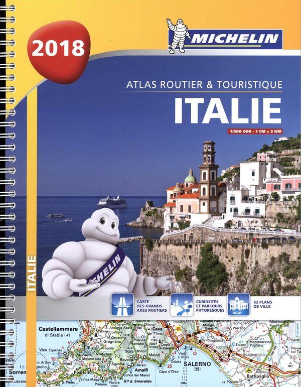 Atlas routier & touristique - Italie 2018