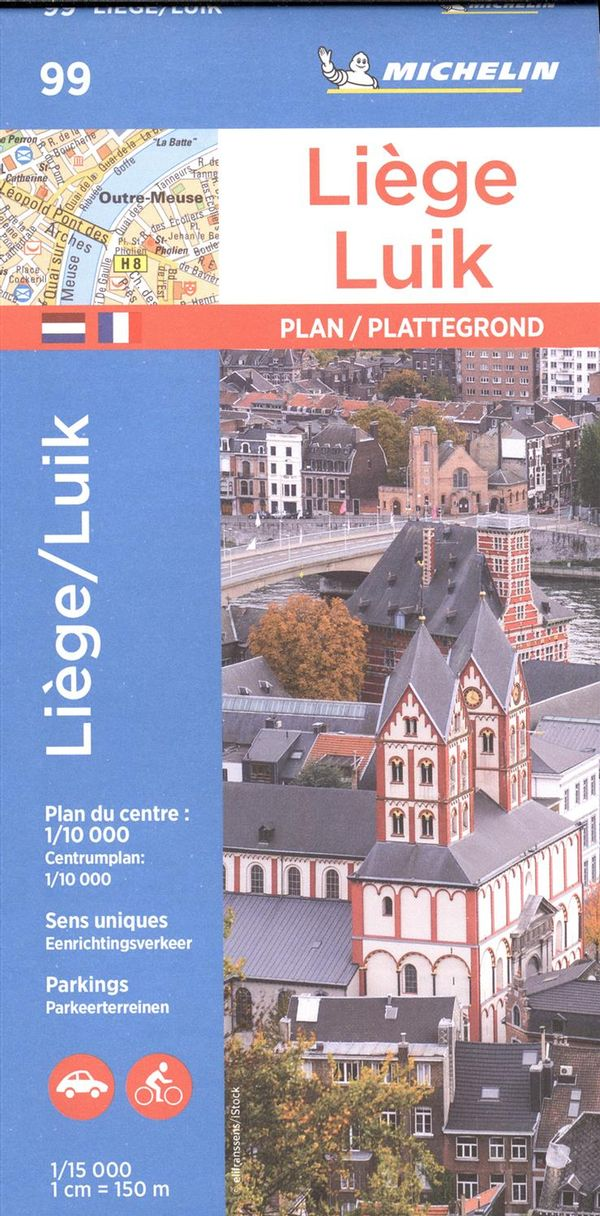 Liege 99 - Carte ville local