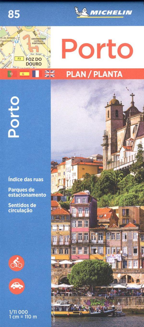 Porto 85 - Carte ville local