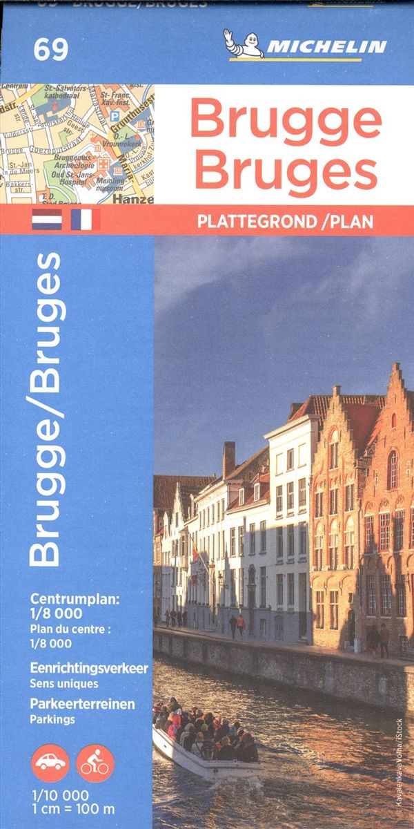 Bruges 69 - Carte ville local