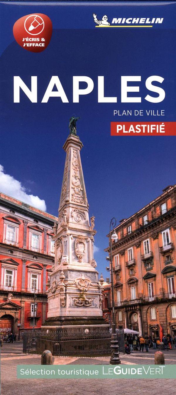 Naples - Plan de ville plastifié