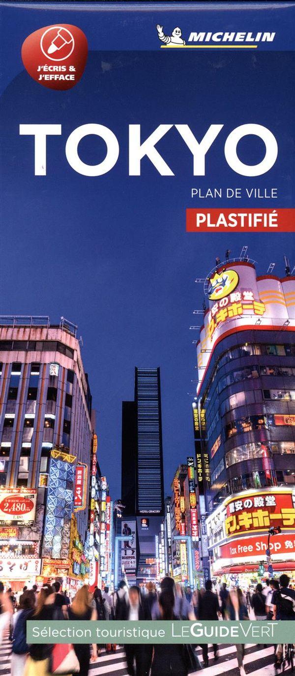 Tokyo - Plan de ville Plastifié