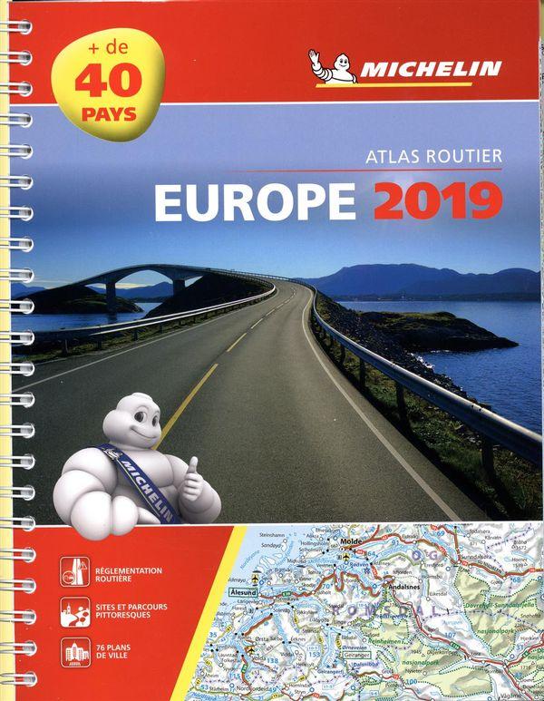 Europe 2019 - Atlas routier