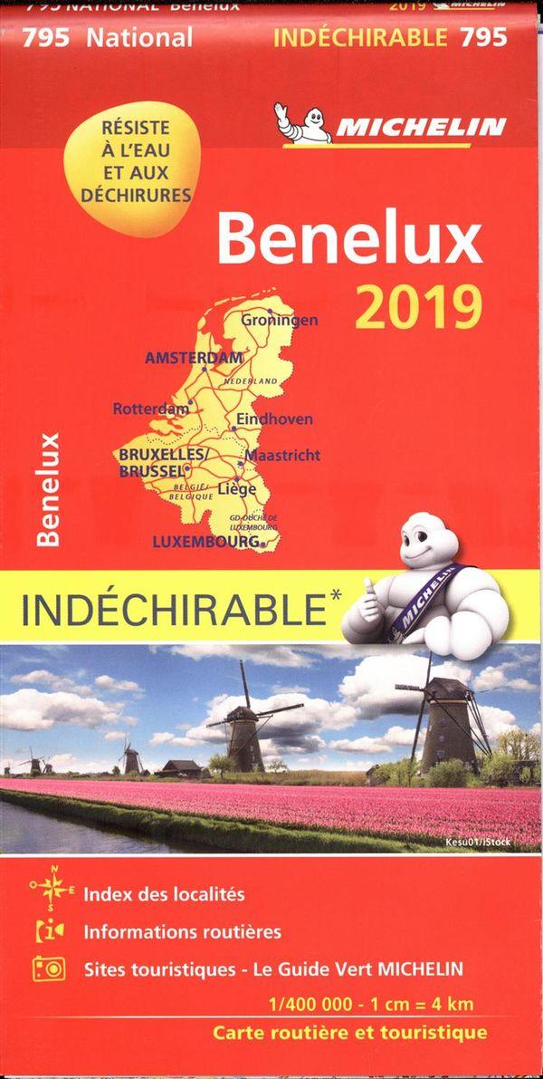 Benelux 795 - carte nat. 2019 indéchirable