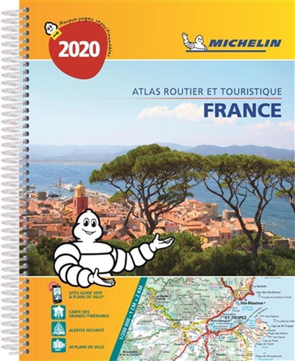 France Atlas routier et touristique 2020