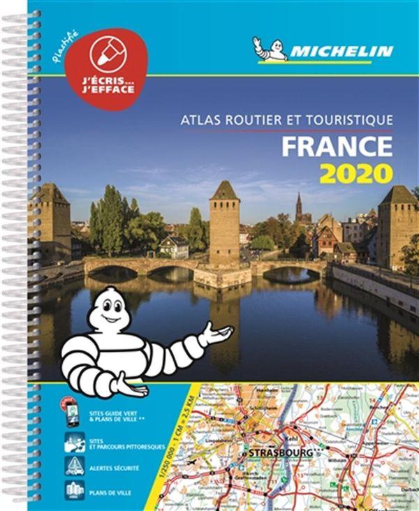 France Atlas Routier et touristique 2020 (Plastifié)