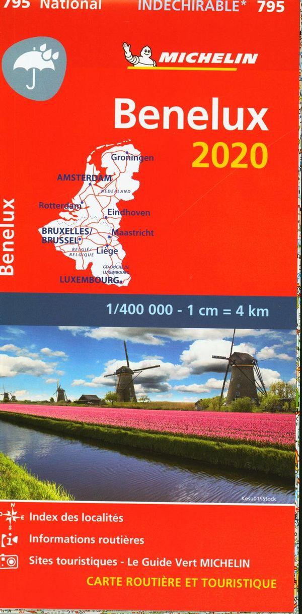 Bénelux 2020 - Carte Indéchirable