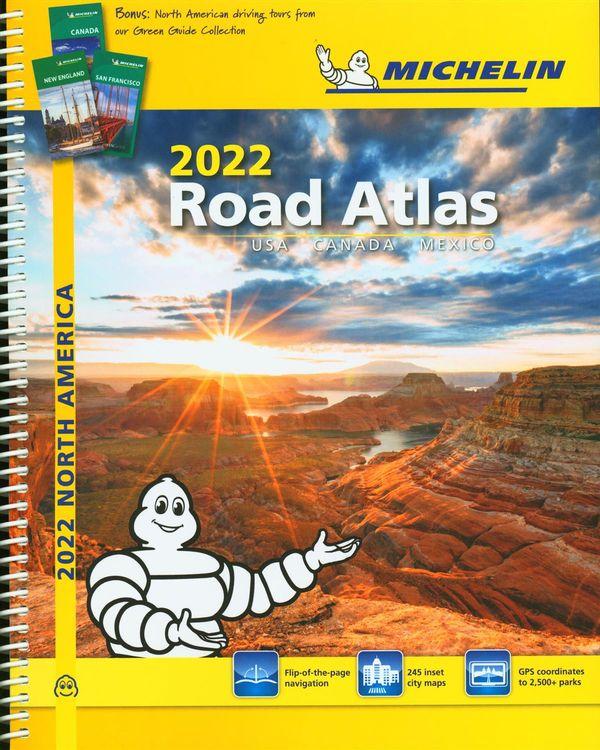Michelin North America Road Atlas 2022, 19e Spiral