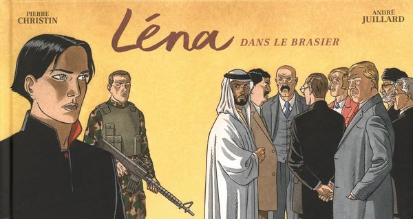 Long voyage de Léna 03  Léna dans le brasier - Version strip
