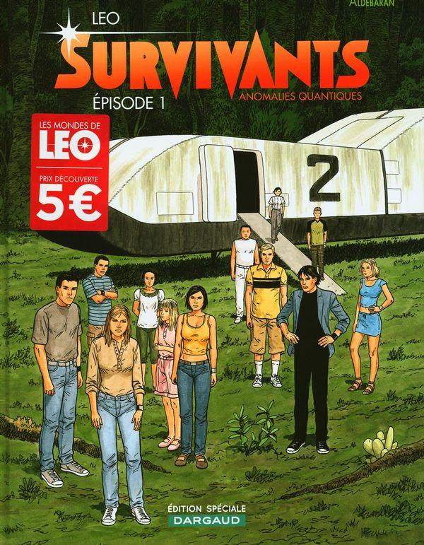 Survivants 01 : Anomalies quantiques (petit prix)