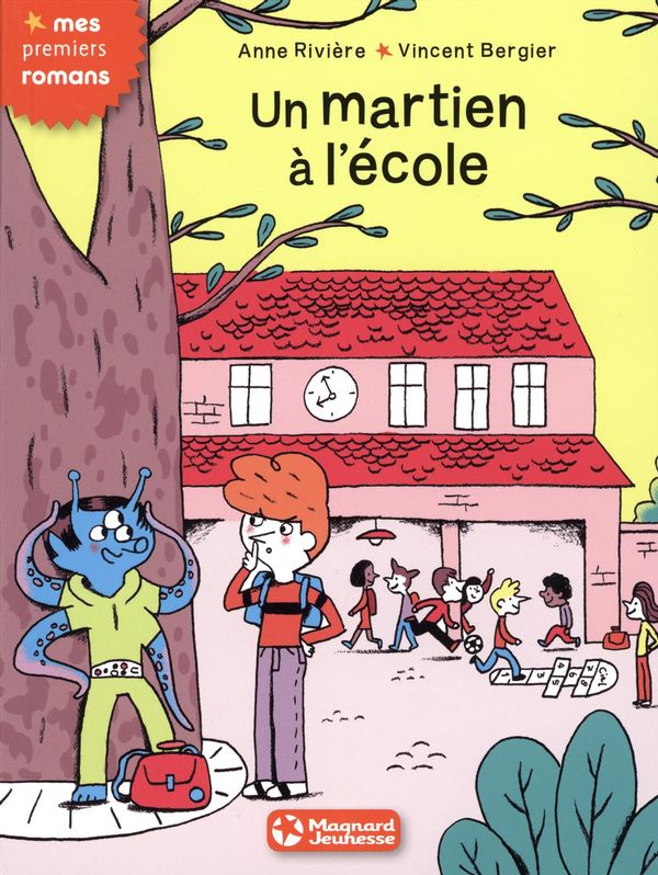 Un martien à l'école
