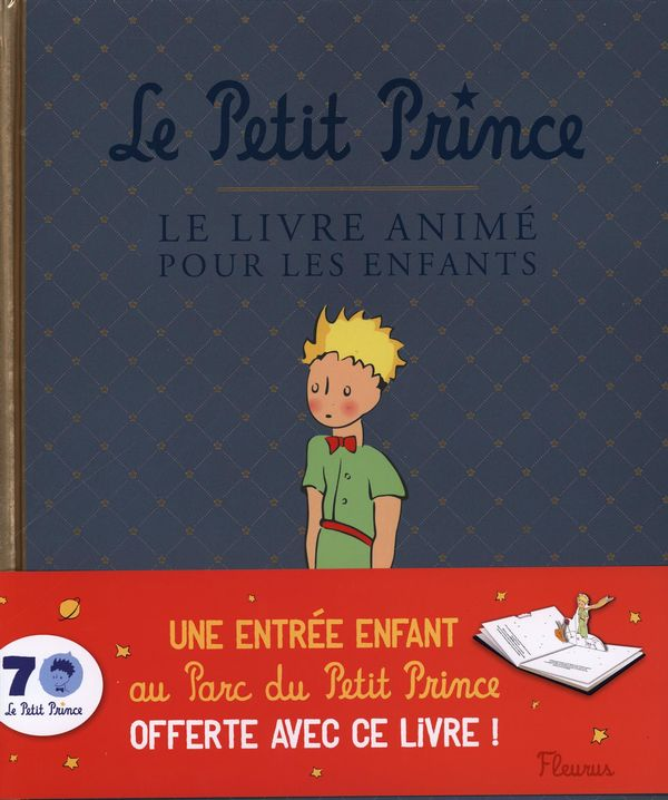 le petit prince le livre anim pour les enfants. Black Bedroom Furniture Sets. Home Design Ideas