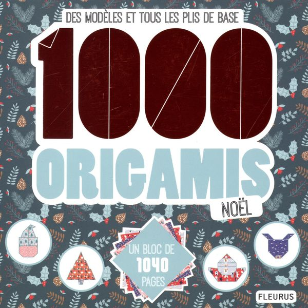 1000 origamis Noël