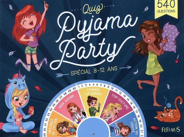 Quiz pyjama party : Spécial 8-12 ans