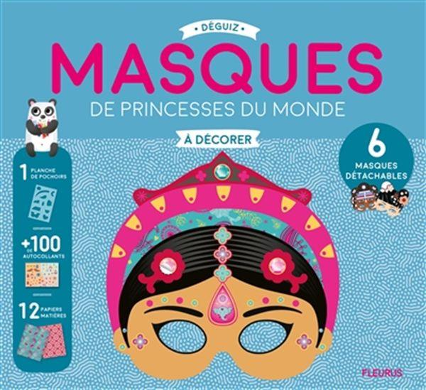 Masques de princesses du monde à décorer