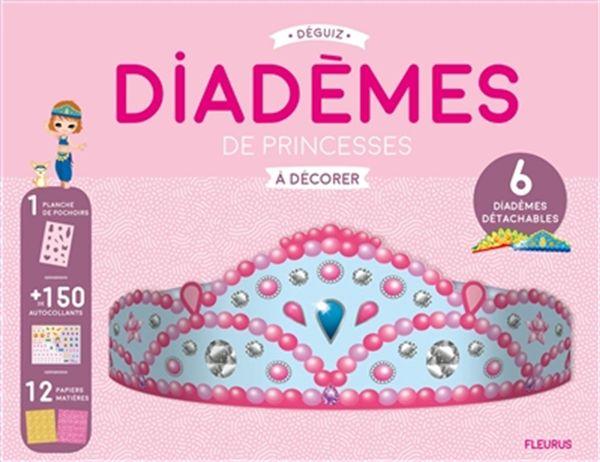 Diadèmes de princesses à décorer