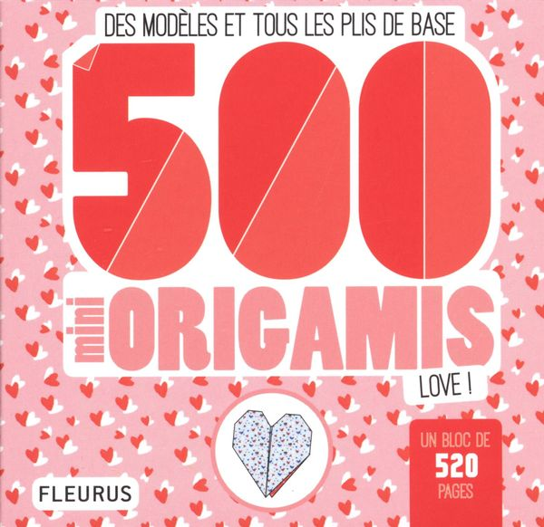 500 mini origamis love !