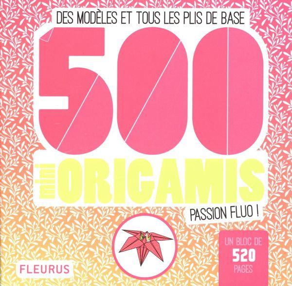 500 mini origamis - Passion Fluo !