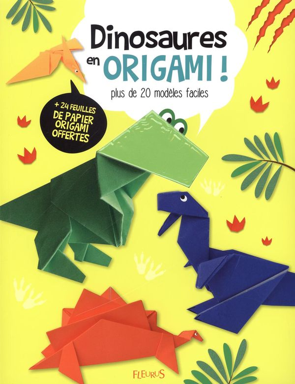 Dinosaures en origami !