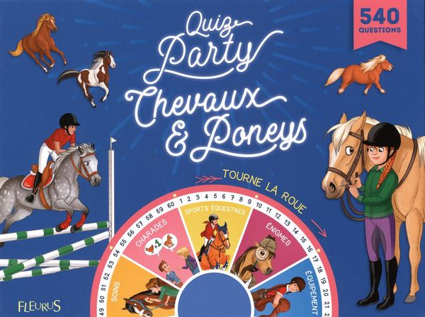 Quiz party chevaux & poneys