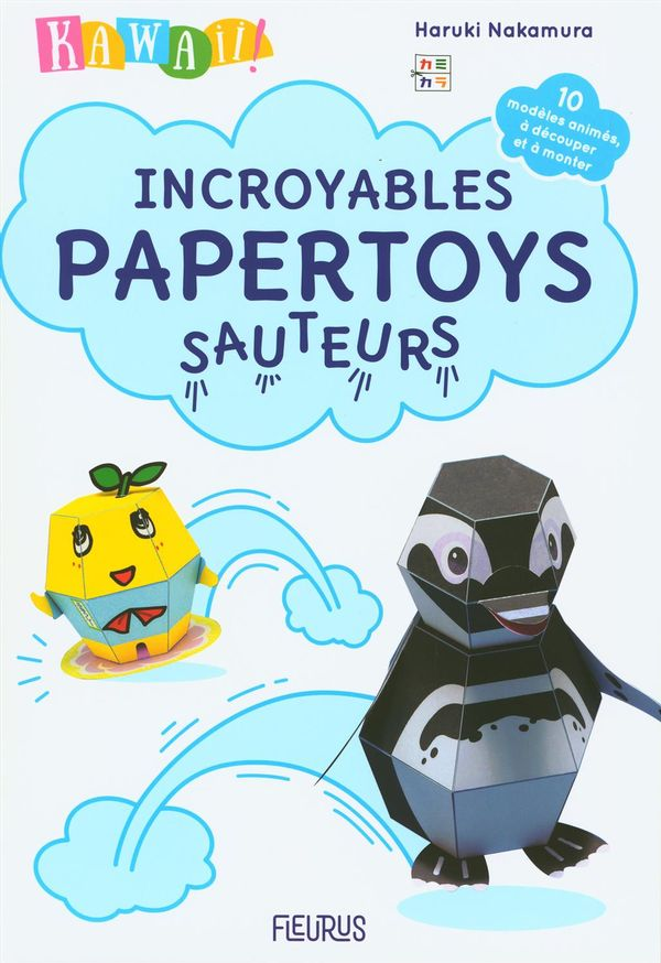Kawaii ! Incroyables papertoys sauteurs