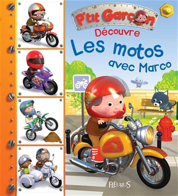 Découvre les motos avec Marco