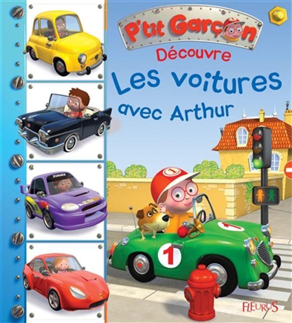 Découvre les voitures avec Arthur