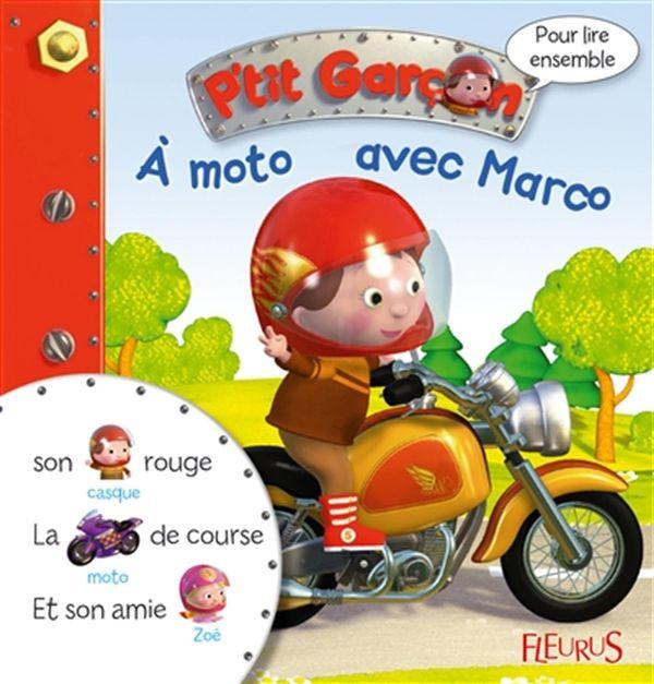 A moto avec Marco