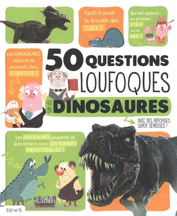 50 questions loufoques sur les dinosaures