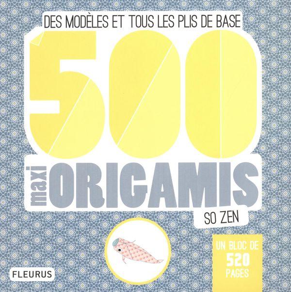 500 maxi origamis so zen