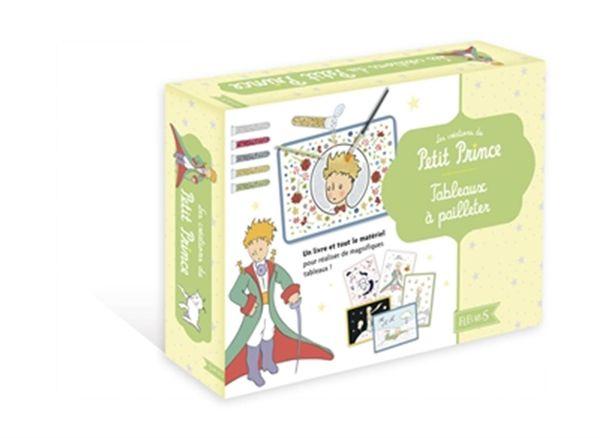 Les créations du Petit Prince : Tableaux à pailleter