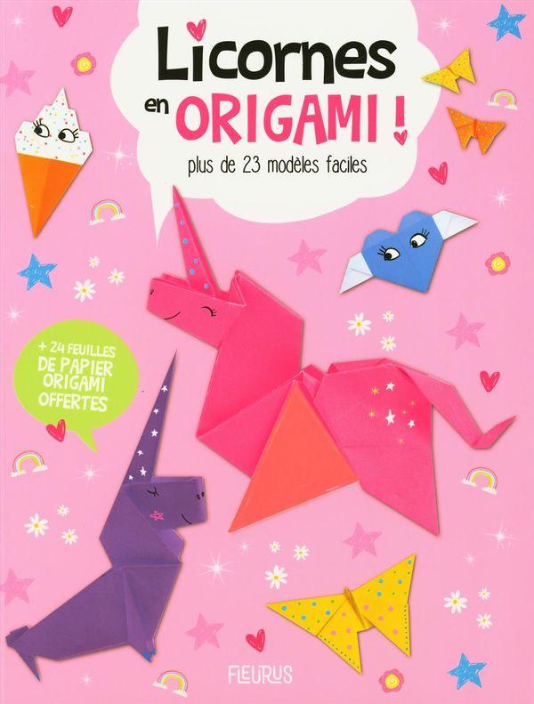 Licornes en origami