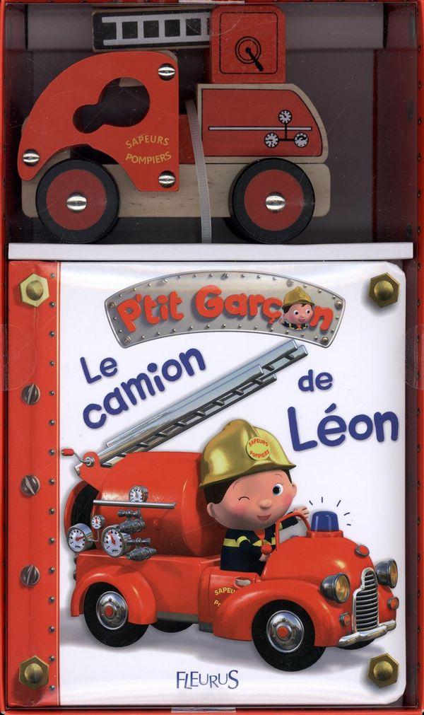 Le camion de pompier de Léon