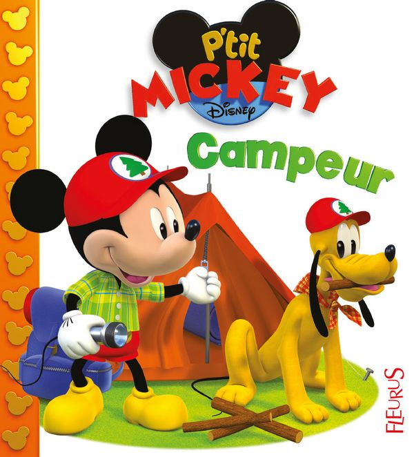 Mickey campeur