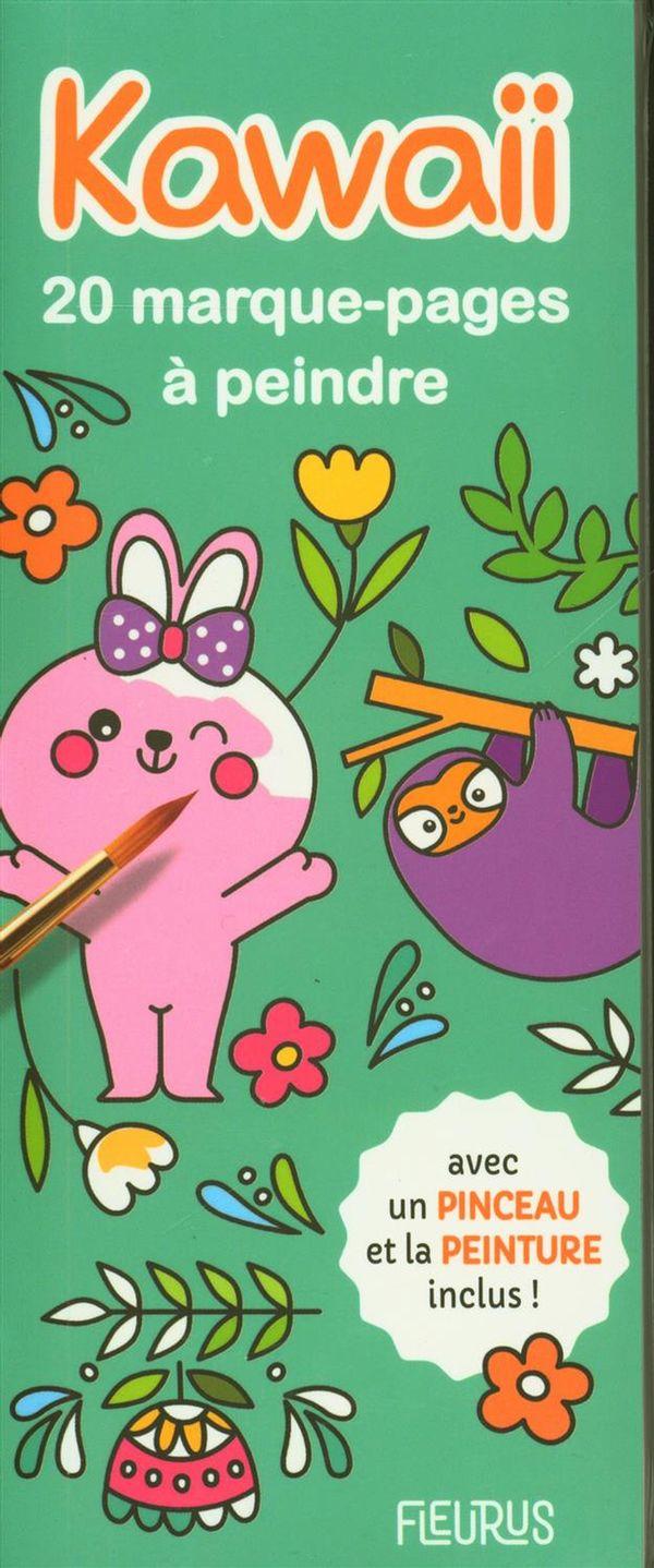 Marque-pages à peindre - Kawai