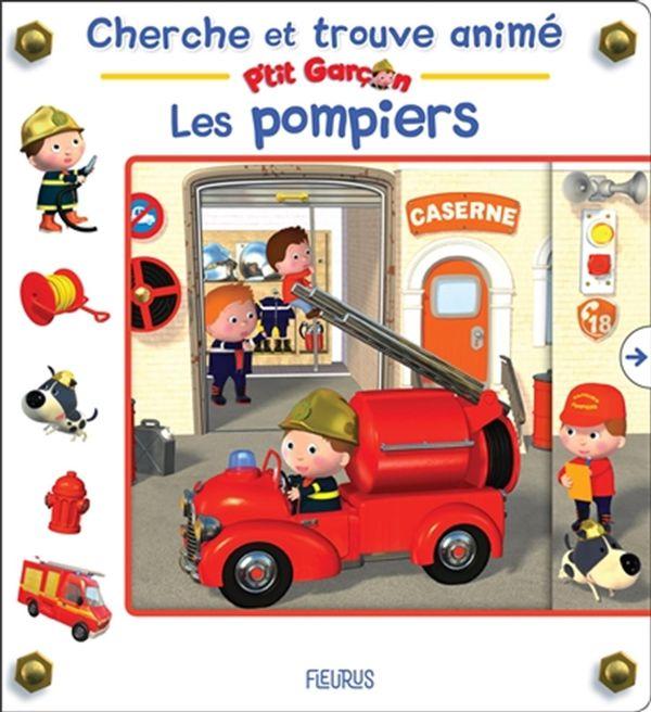 Les pompiers : Cherche et trouve animé