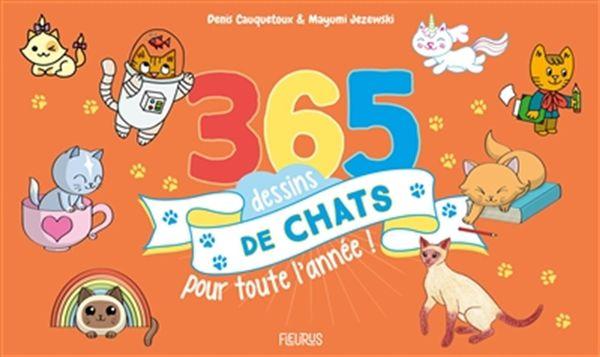 365 dessins de chats pour toute l'année!