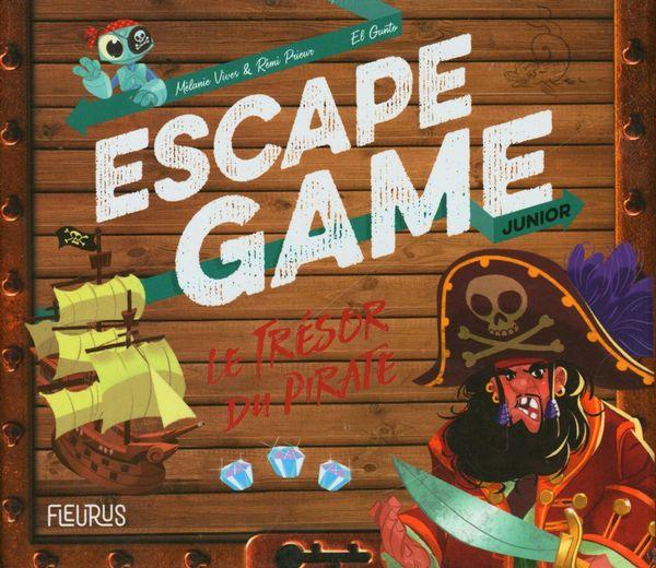 Escape Game Junior - Le trésor du pirate (coffret) N.E.