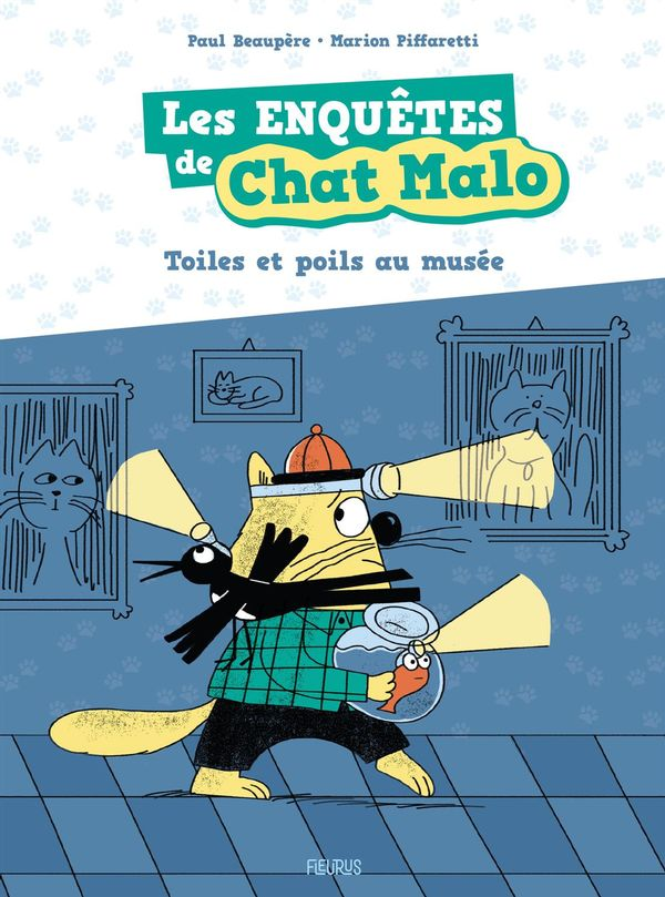 Les enquêtes de Chat Malo 02 : Toiles et poils au musée