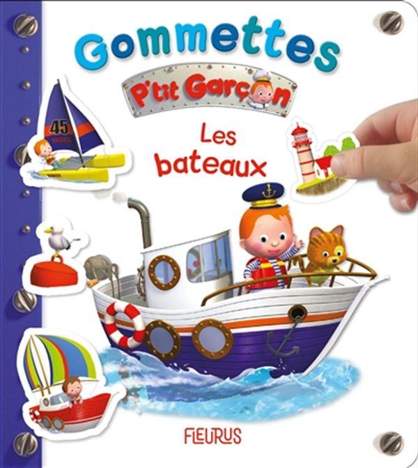 Les bateaux : Gommettes P'tit Garçon