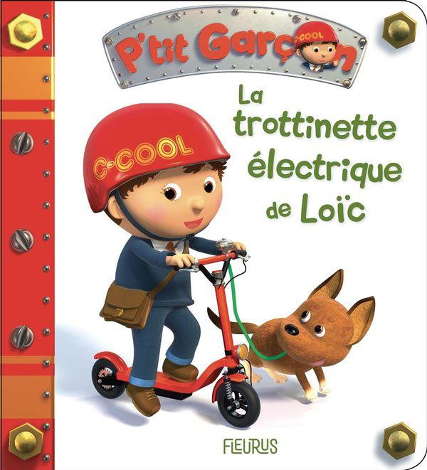 La trotinette électrique de Loïc