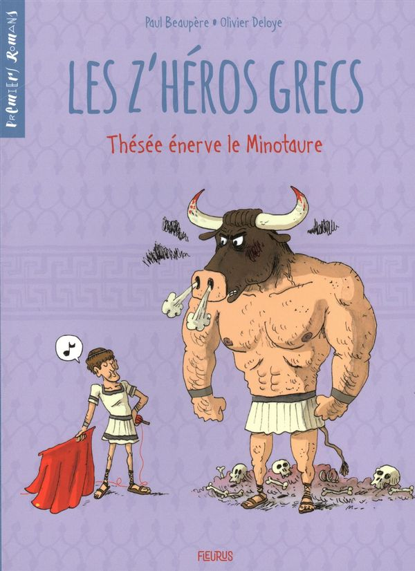 Les Z'héros grecs 03 : Thésée énerve le minotaure