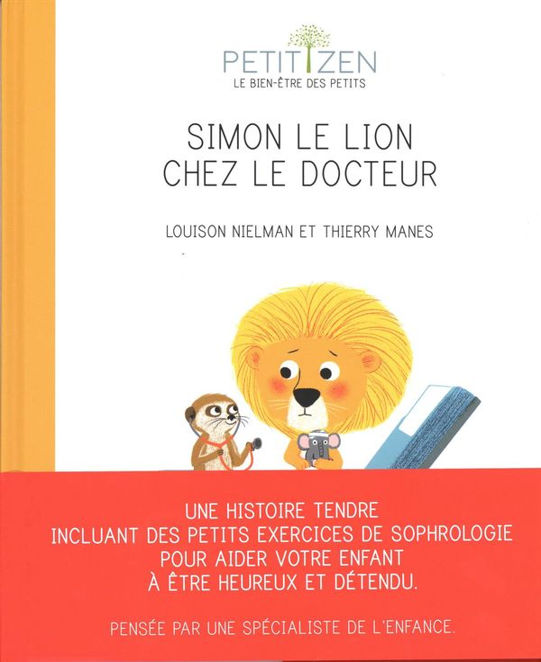 Simon le lion chez le docteur