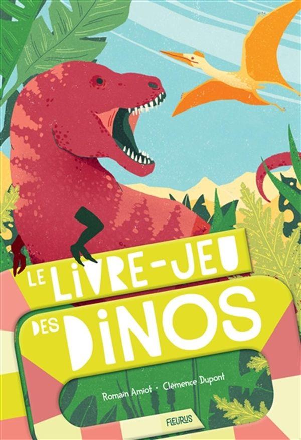Livre-jeu dinosaures Le